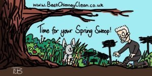 Chimney Sweep time for your spring sweep