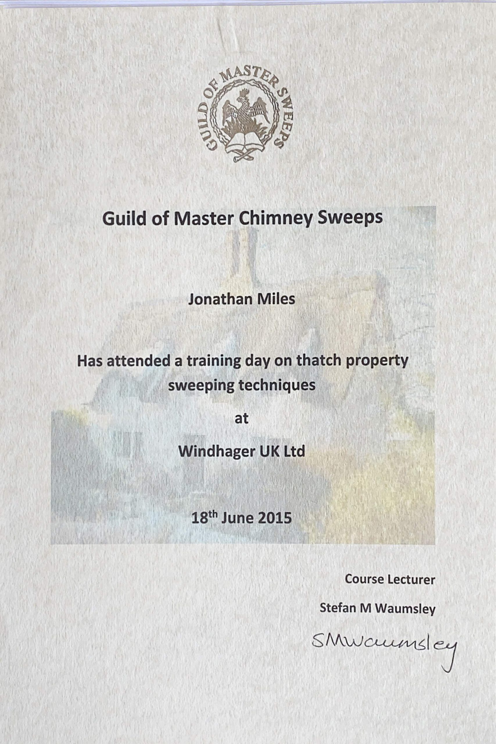 Exeter Chimney Sweep Thatch Specialist Chimney Sweep